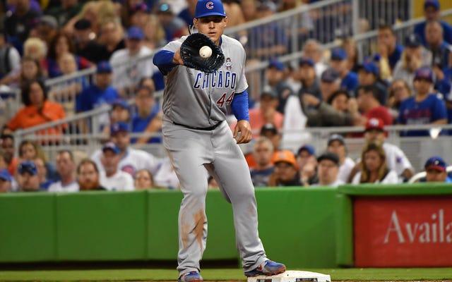 Anthony Rizzo cree que el béisbol podría tener una temporada más corta