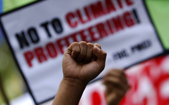 Организаторы окружающей среды борются не просто с климатическим кризисом, они борются за объединение в профсоюзы