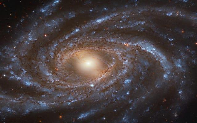 ハッブルは渦巻銀河の見事な景色を捉えています