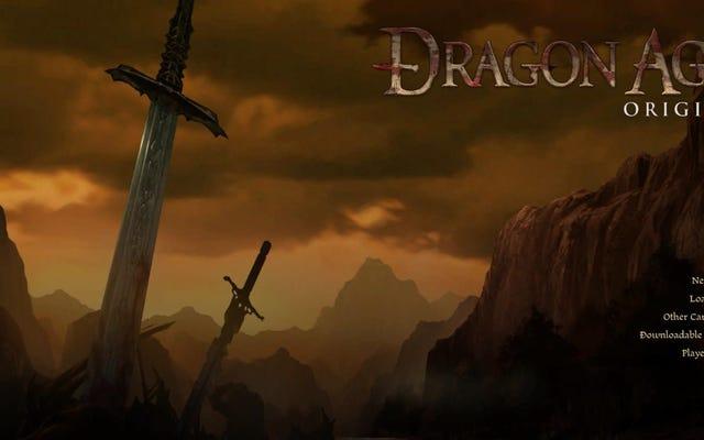 ドラゴンエイジに戻ることの良い点、悪い点、そして醜い点:起源