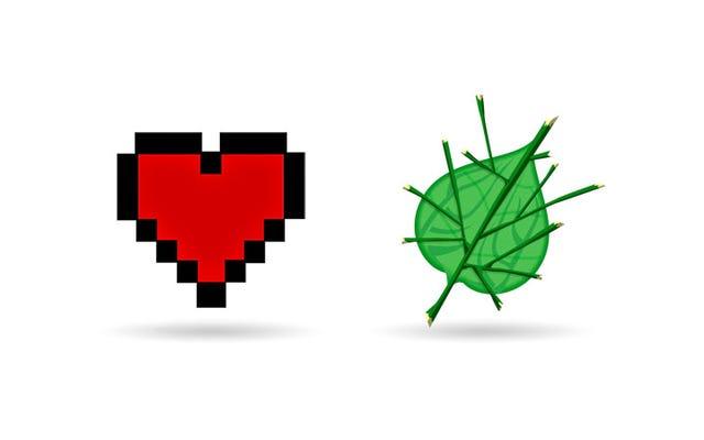 Eu amo Zelda's Leaf