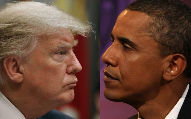 2 năm Trump Vs. 2 năm của Obama: Theo những con số