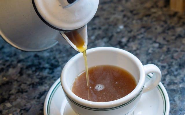 スウェーデンのエッグコーヒーの謙虚な栄光を称えましょう