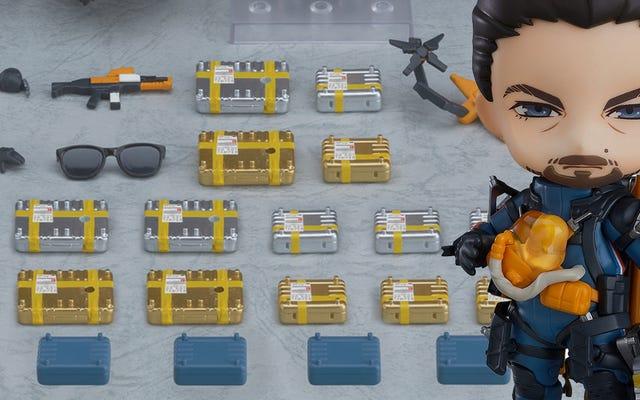 デスストランディングアクションフィギュアはすべての貨物を運ぶ