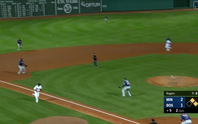 Voici 13 secondes de baseball qui étaient plus excitantes que l'intégralité du football du jeudi soir