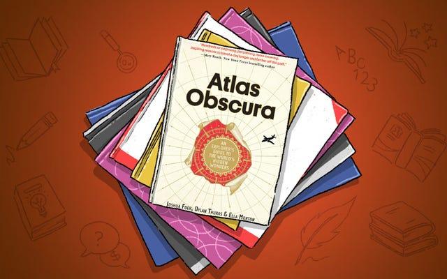 アトラスオブスキュラはすべての旅行オタクが必要とする本です