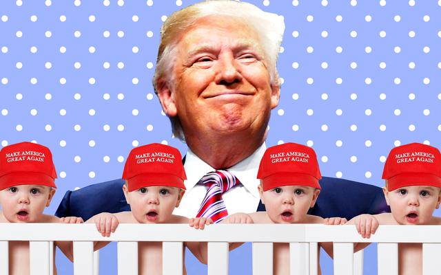 Jeśli chodzi o zwolenników białej supremacji, Trump, jesteś Ojcem