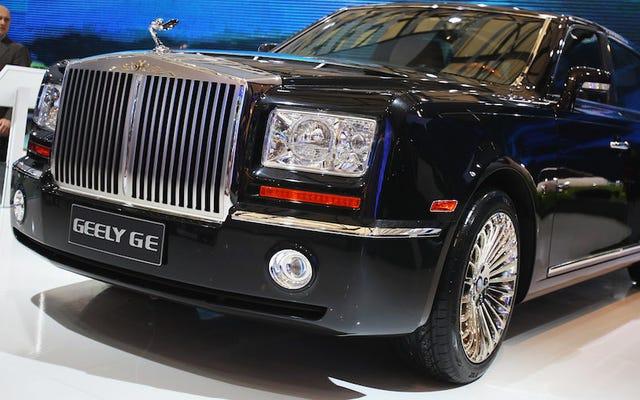 Os dez maiores carros chineses gigantes já feitos