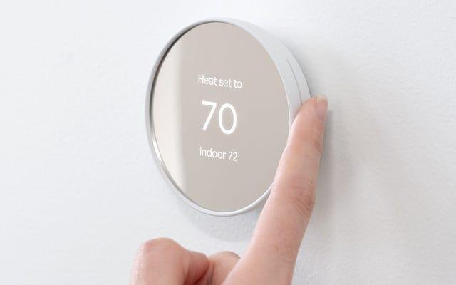 Новый термостат Nest снижает цену на 40 долларов, но при этом избавляется от колеса прокрутки
