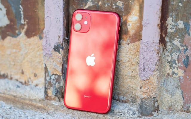 Otro error de texto es el bloqueo de iPhones y iPads