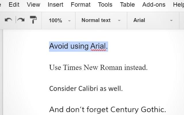 Tres fuentes que debe usar en lugar de Arial para ahorrar tinta de impresora