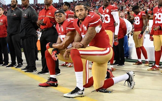 NFLコミッショナーのロジャー・グッデルがコリン・キャパニックに白い涙を流した:「もっと早く聞いていたらよかったのに」