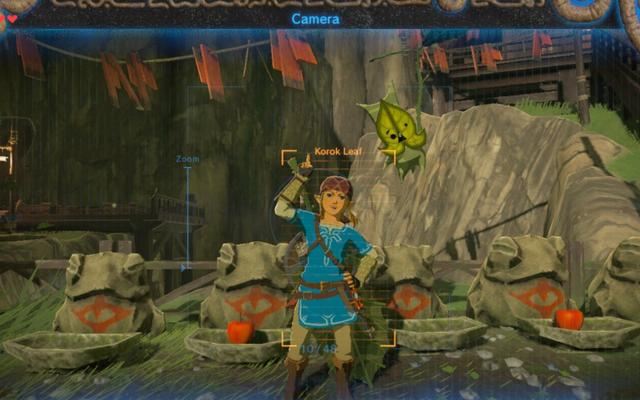 ゼルダ:ブレスオブザワイルドがビデオゲームの収集品を正しく入手