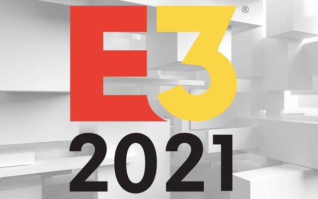 Voici le calendrier des conférences de presse E3 (et non-E3) 2021 jusqu'à présent