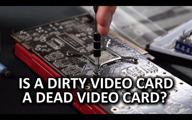 Limpie el polvo de la tarjeta de video de su PC con esta guía de video