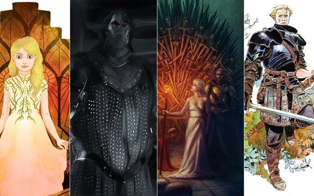 Ces artistes fans rendent Game Of Thrones encore plus beau