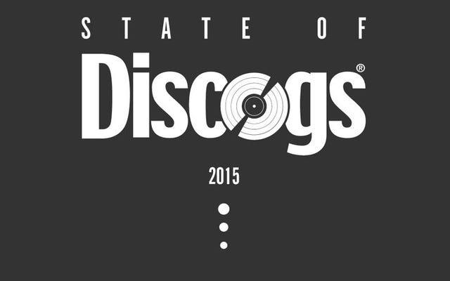 Discogs dit avoir vendu 6,6 millions de disques l'année dernière, dont 4000 étaient des rumeurs