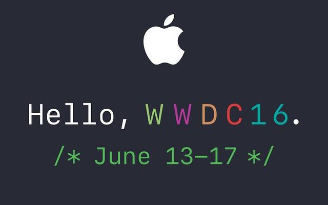 สิ่งที่คาดหวังจาก Apple WWDC 2016