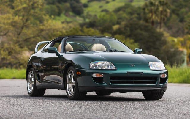 Bu Süper Temiz 1997 Toyota Supra'nın Müzayedede Hangi Astronomik Fiyata Sahip Olacağını Yalnızca Tanrı Bilebilir