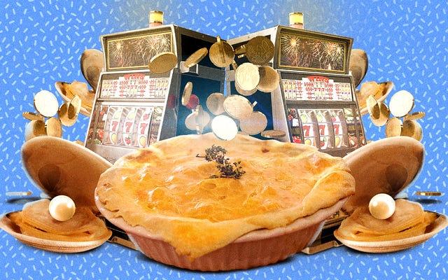アサリのカジノパイを作るのはとても簡単です、あなたはあなたが夕食の大当たりを打ったように感じるでしょう