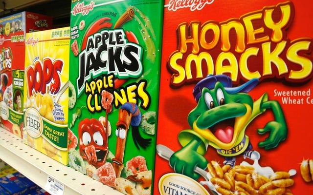 El cereal Honey Smacks se agrega a la creciente lista de mierda que podría causarle intoxicación por salmonela