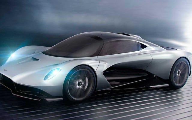 アストンマーティンのジュニアスーパーカーでさえ1000HPを達成しようとしています:レポート