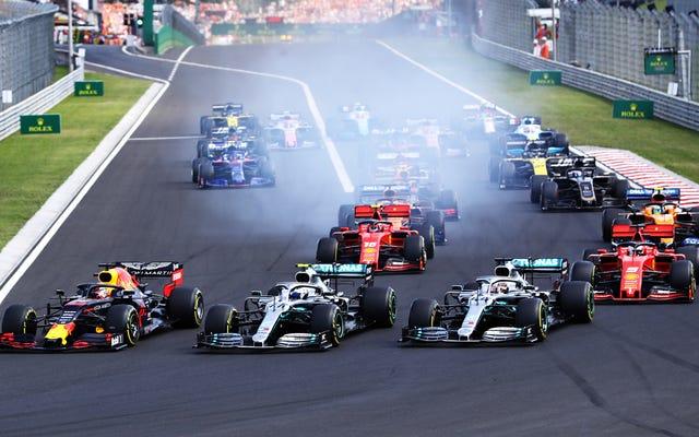 モータースポーツではどのくらいの標準化が多すぎますか?