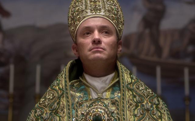 若い教皇はH&Mラインを行うべきです