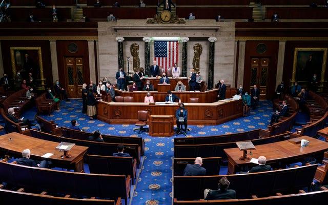 Hạ viện chính thức đưa ra nghị quyết luận tội Tổng thống Trump về căn cứ 'Kích động người nổi dậy'