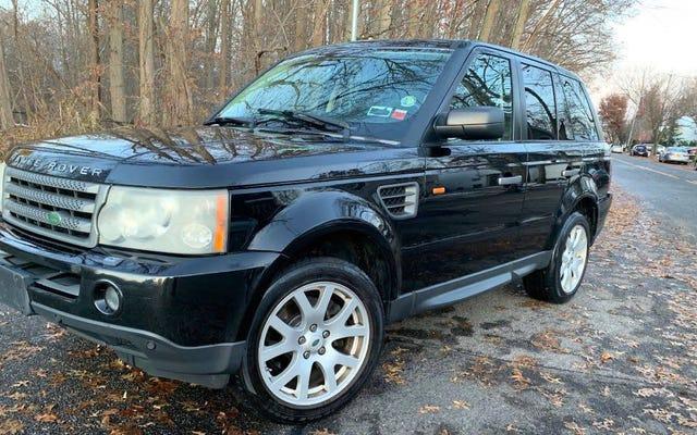 6.000 $ 'a, Bu 2008 Range Rover Sport'u Satın Alırken Bir Fayda Görebilir misiniz?