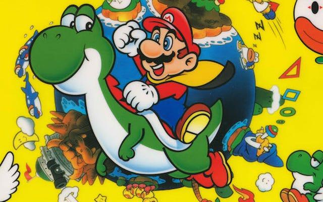 発掘された1990年のインタビューはスーパーマリオワールドについての素晴らしい洞察を明らかにします
