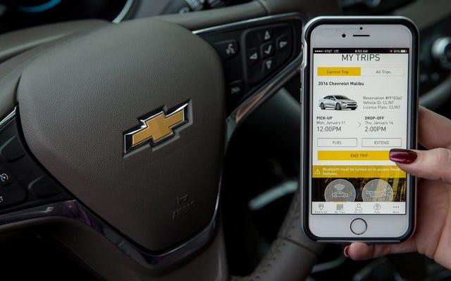 GM vuole abbattere la Zipcar con il nuovo servizio di car sharing Maven