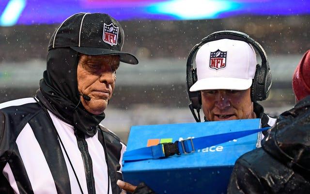 NFL競争委員会は、ゲームの別のいくつかの部分をリプレイレビューにかけることを推奨しています