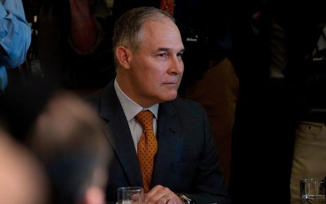 Федеральные исследователи обеспокоены EPA Скотта Прюитта готовится уничтожить предстоящий климатический отчет