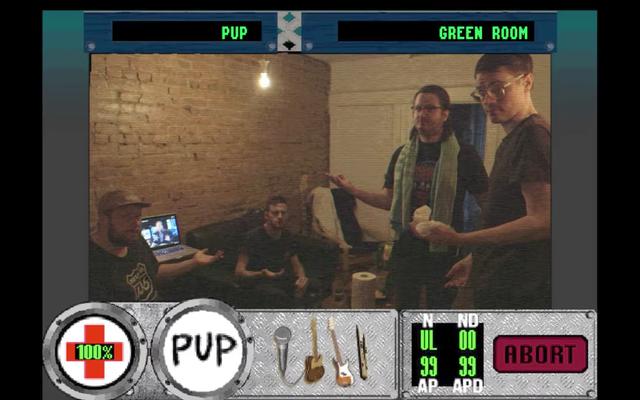 このミュージックビデオもFMVゲームです