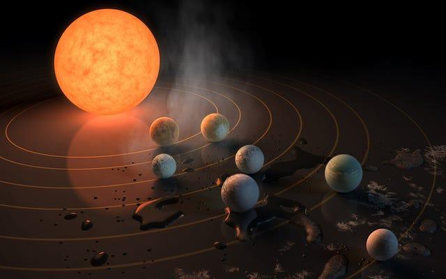 新しく発見された7つの惑星の星系についての7つの驚くべき事実