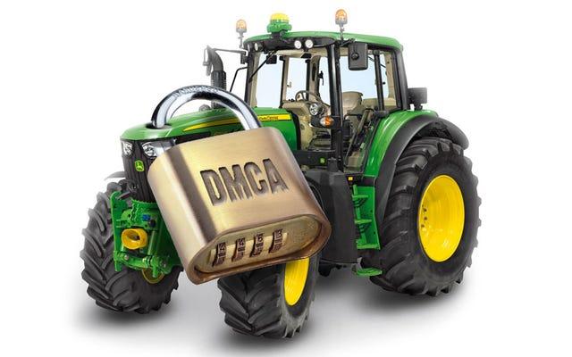 किसान अभी भी अपने ट्रैक्टरों को ठीक करने के लिए लड़ रहे हैं