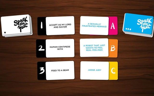 カード・アゲンスト・ヒューマニティの陽気な代替品を提供する4つの新しいゲーム
