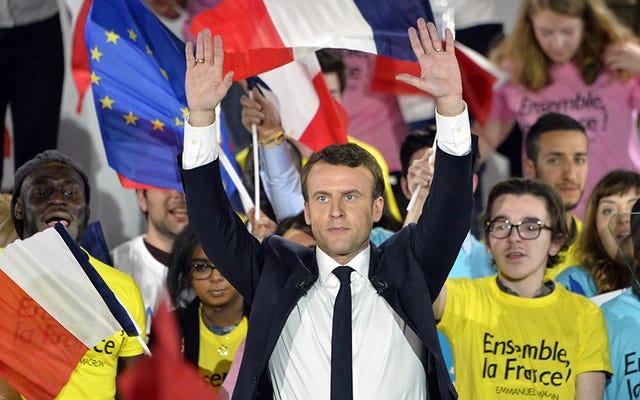 フランス大統領選挙は「大規模なハック」を主張