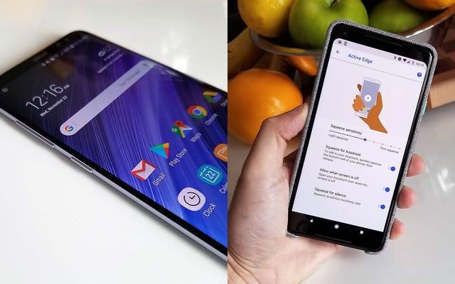 Nút Bixby của Samsung và nút bóp trợ lý của Google có các hương vị khác nhau giống nhau