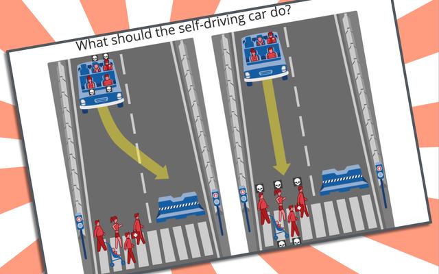 กิจกรรมออนไลน์ของ MIT ให้คุณเลือกได้ว่าใครจะถูกฆ่าหากซากรถที่ขับเองพัง