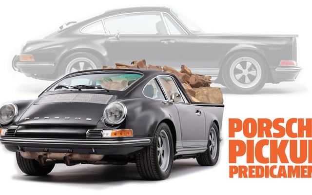 Saya Melihat Porsche 911 Aneh Dan Entah Bagaimana Menjadi Sebuah Truk Pickup