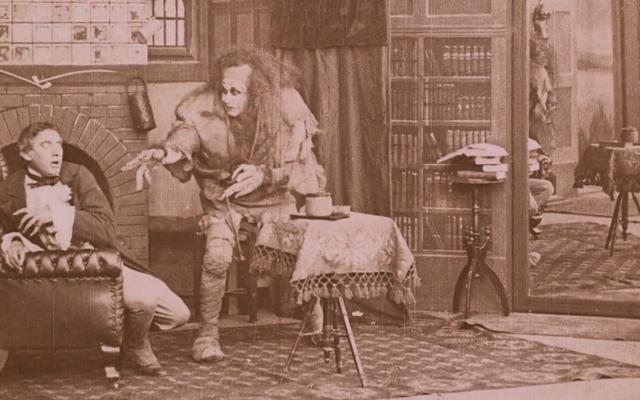 देखो इस खूबसूरती से बहाल 1910 हैलोवीन के लिए फ्रेंकस्टीन की फिल्म अनुकूलन