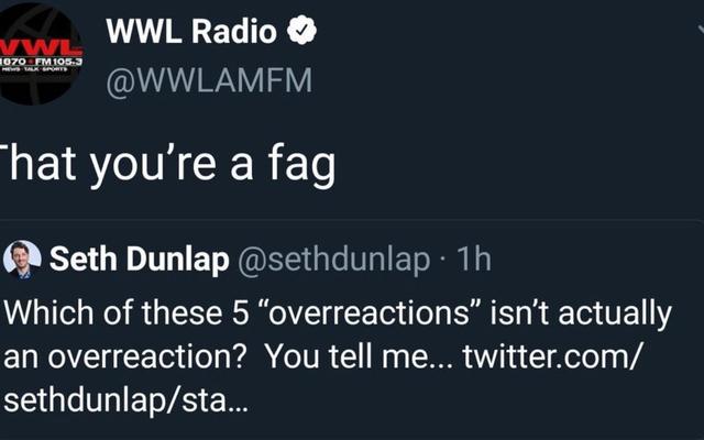 ニューオーリンズのラジオ局が警察の報告書を提出し、同性愛嫌悪のスラーを自分でツイートしたゲイの従業員を非難