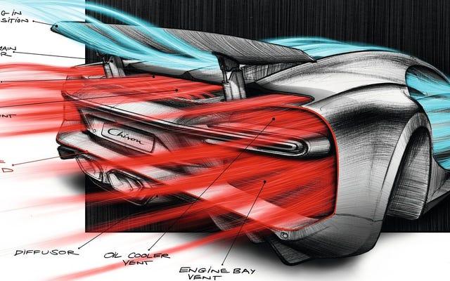 Bugatti Chiron Tùy chọn thêm: Tốc độ tối đa 285 MPH (CẬP NHẬT: Nah)