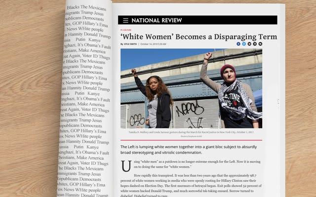 บังสุกุลสำหรับ 'ผู้หญิงผิวขาว' ซึ่งการทบทวนระดับชาติกล่าวว่าเป็น 'คำที่ไม่เหมาะสม'
