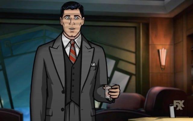 Archer zyskuje totalnie noir w pierwszych promocjach sezonu ósmego