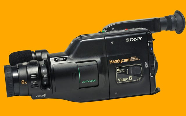 Echo de menos experimentar con la vieja Sony Handycam de mis abuelos