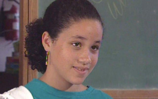Смотрите: 11-летняя Меган Маркл закрывает сексистскую рекламу моющих средств для посуды