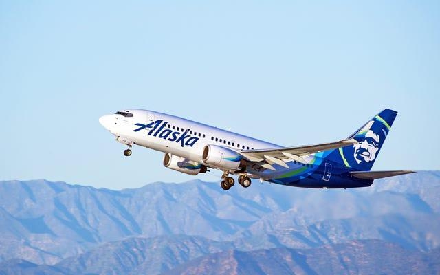 Obtenez 10% de réduction sur votre prochain vol en Alaska si vous recevez la newsletter de la compagnie aérienne
